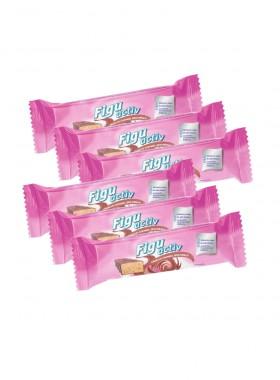 Figuactiv Riegel Crunchy Caramel-Geschmack, 6er-Box