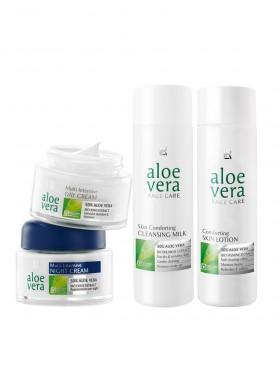 Aloe Vera Basis Gesichtspflege-Set