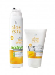 Aloe Vera Sun Protection Set II