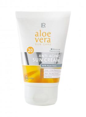 Aloe Vera Anti-Aging Sonnencreme LSF 20