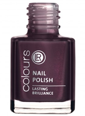 LR colours Nail Polish Lasting Brilliance - Dark Amethyst