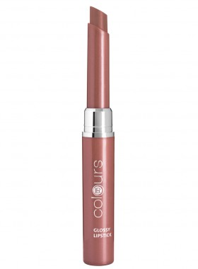 LR colours Glossy Lipstick - Crystal Caramel