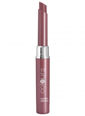 LR colours Glossy Lipstick - Crystal Mauve